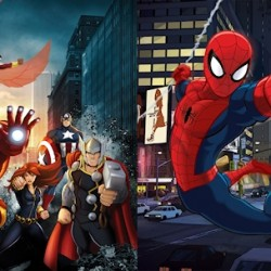 Featurette Countdown for Marvel's Avengers Assemble and Ultimate Spider-Man