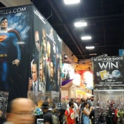 Comic-Con 2013 in Pictures Inside Preview Night Including Superman Exhibit and More