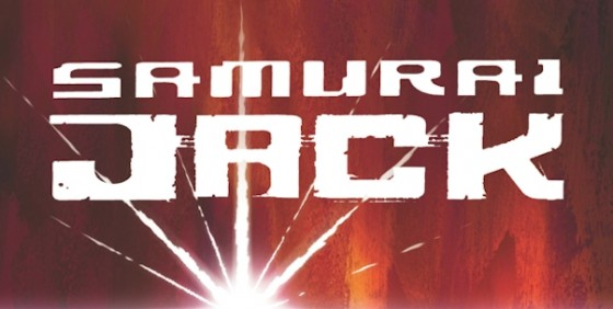 Samurai Jack Comic logo wide