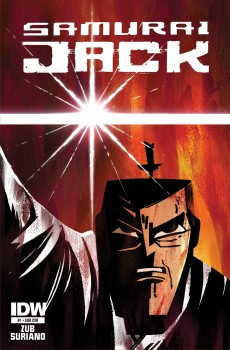 Samurai Jack comic cover