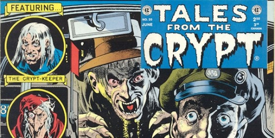 Tales From the Crypt comic wide
