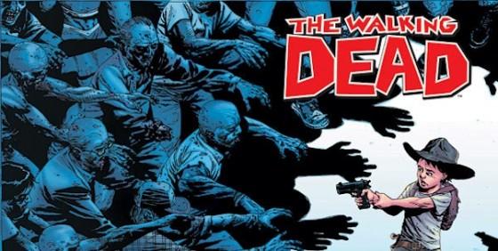 The Walking Dead comic wide