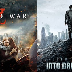 Relive Summer Blockbluster Bliss With STAR TREK INTO DARKNESS and WORLD WAR Z Double Feature