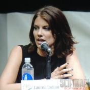 The Walking Dead sdcc 2013 Lauren Cohan