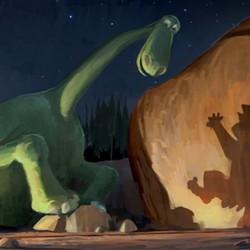 Voices of Pixar's GOOD DINOSAUR Announced at Disney D23 Expo