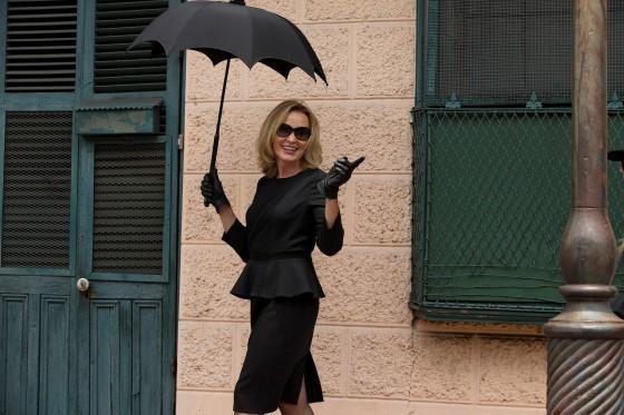 AHSC Jessica Lange on set