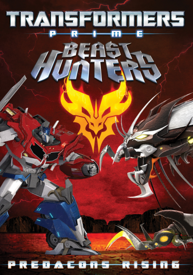 Transformers Prime Beast Hunters cover