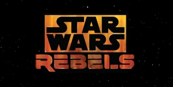 Star Wars Rebels stars logo wide