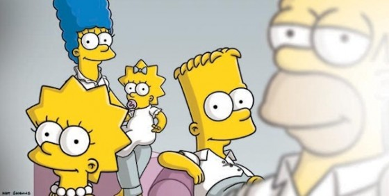 The Simpsons wide