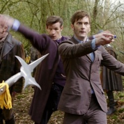 Featurettes, Screen Shots and New Countdown Pic for DOCTOR WHO: THE DAY OF THE DOCTOR