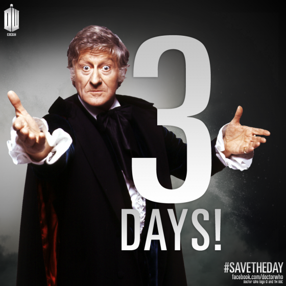 Doctor Who dotd 3 days