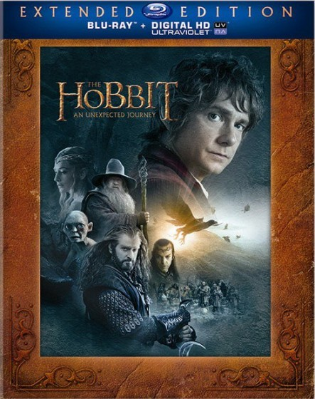 Hobbit AUJ Extended Edition Blu-ray cover