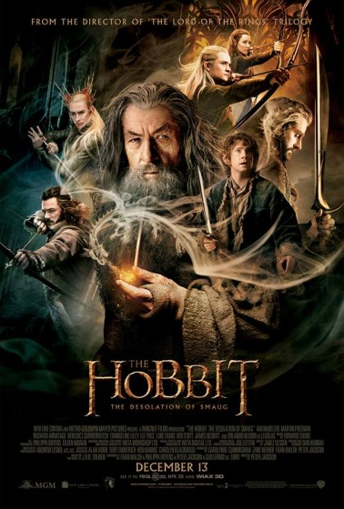 Hobbit TDOS theatrical poster gandalf