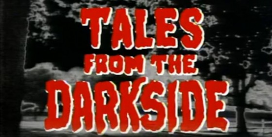 Tales From the Darkside original logo wide