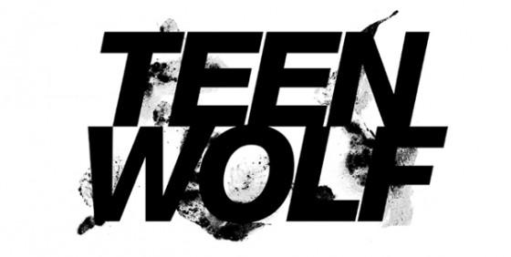 Teen Wolf logo 3-5 white wide