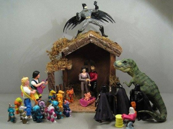 Christmas 2013 via Comikaze Expo nativity