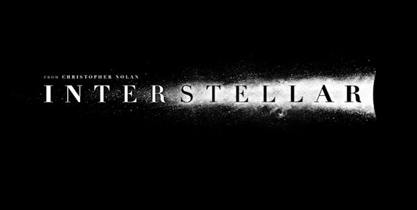 Interstellar logo wide