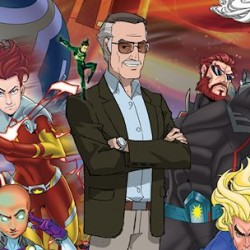 Stan Lee to Star in New Superhero Animated Movie STAN LEE'S MIGHTY 7