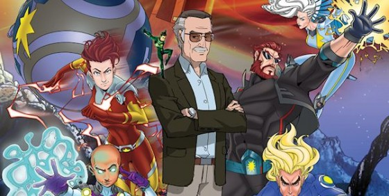 Stan Lee's Might 7 poster wide