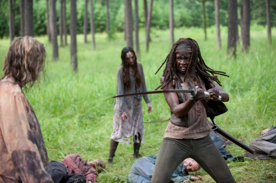 The Walking Dead 409 Michonne katana