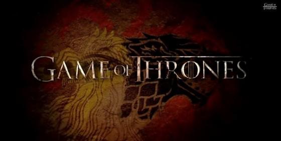 Game of Thrones s4 logo sigils wide