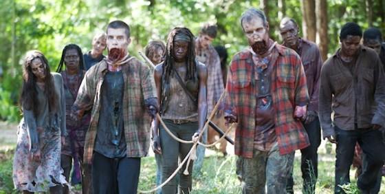 The Walking Dead 409 walkers wide