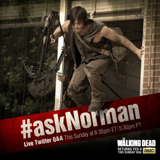 The Walking Dead s4B ask norman graphic
