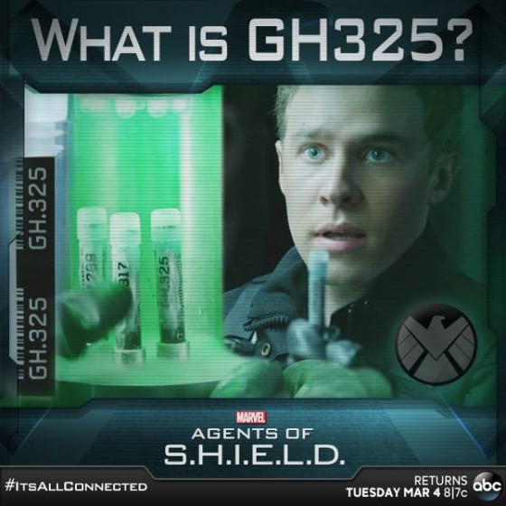 Marvel's Agents of SHIELD 114 GH325 graphic