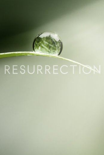 Resurrection logo poster
