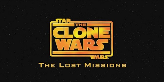 Star Wars The Clone Wars The Lost Missions logo wide