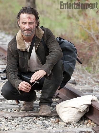 The Walking Dead 415 Rick tracks