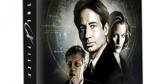 X-Files board game wide