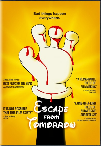 Escape From Tomorrow BD cover