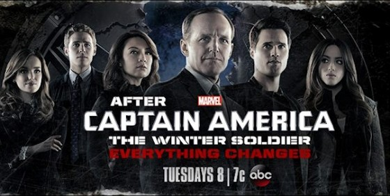 Marvel's Agents of SHIELD cover after cap wide