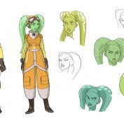 Star Wars Rebels concept art 14 Hera