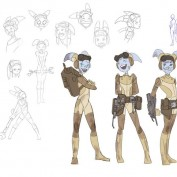 Star Wars Rebels concept art 16 Hera