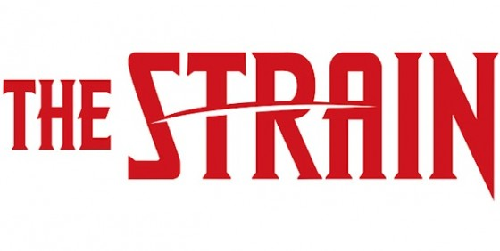 The Strain logo white background wide