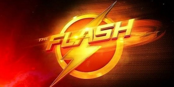 The Flash logo wide