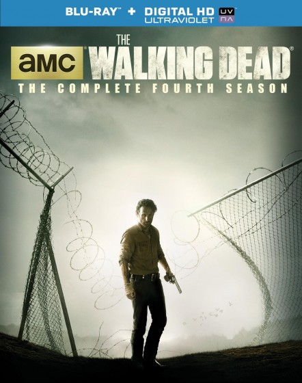 The Walking Dead s4 blu-ray cover