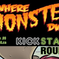 Three Great Comics Creators Guest on Tonight's WHERE MONSTERS DWELL