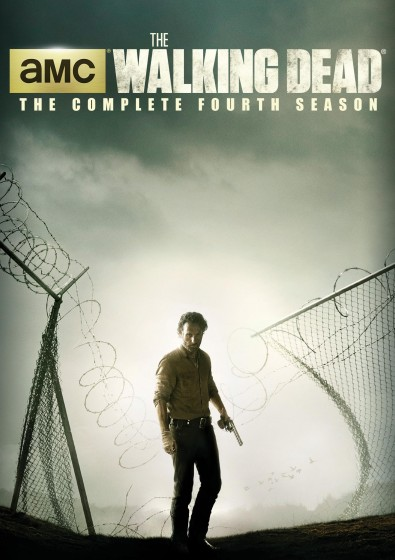 the walking dead S4 dvd cover
