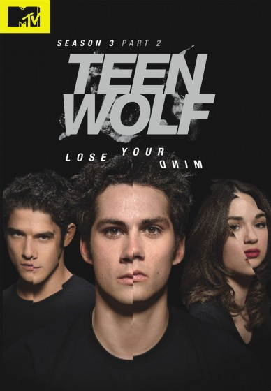 Teen Wolf S3B DVD cover