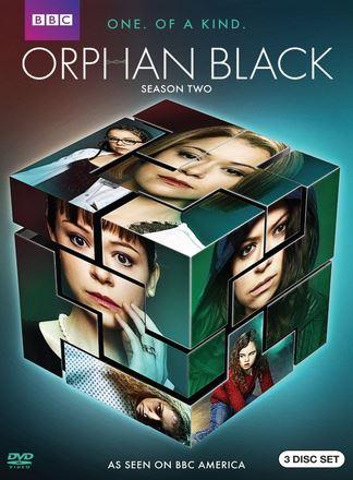Orphan Black s2 DVD cover no angle