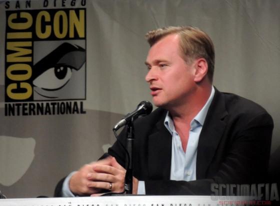 SDCC 2014 Interstellar Christopher Nolan