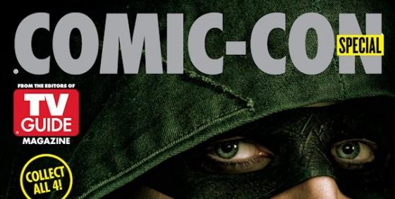 SDCC 2014 TVG Cover Arrow peek wide