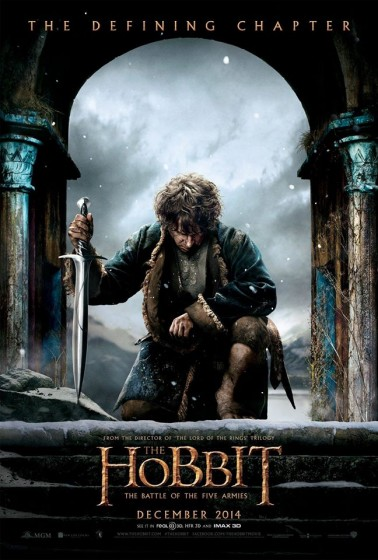 The Hobbit TBOTFA Poster
