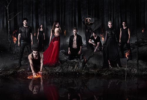 The Vampire Diaries sdcc 2014