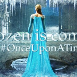 See the First Picture of Anna and Elsa Together for ONCE UPON A TIME