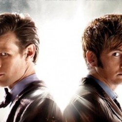 DOCTOR WHO Featurette With David Tennant and Matt Smith Prepares Him and Us for Goodbyes