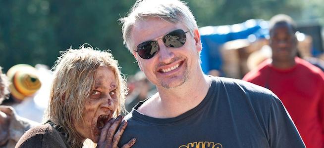 Glen Mazzara and zombie wide1